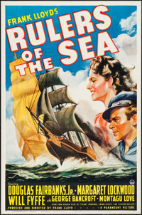 """Rulers of the Sea (Paramount, 1939). One Sheet (27"""" X 41"""") Style B. Adventure"""