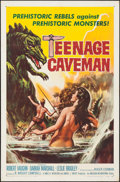 "Movie Posters:Science Fiction, Teenage Caveman (American International, 1958). One Sheet (27"" X 41""). Science Fiction.. ..."