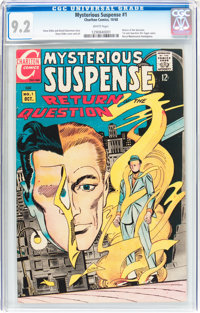 Mysterious Suspense #1 (Charlton, 1968) CGC NM- 9.2 White pages