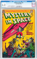 Golden Age (1938-1955):Science Fiction, Mystery in Space #12 (DC, 1953) CGC FN 6.0 Cream to off-whitepages....