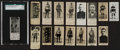 Hockey Cards:Lots, 1925 Dominion Athletic Stars Chocolates Hockey Collection (16). ...