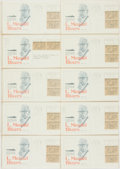 Miscellaneous:Ephemera, Group of Ten Philatelic First Day Covers Honoring L. Mendel Rivers.Each with cancellation stamp from Newport News, VA and d...