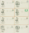 Miscellaneous:Ephemera, Group of Eight Presidential Philatelic First Day Covers. 1969-1974....