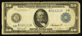 Large Size:Federal Reserve Notes, Fr. 1030 $50 1914 Federal Reserve Note Fine.. ...