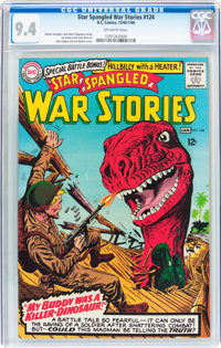 Star Spangled War Stories #124 (DC, 1965) CGC NM 9.4 Off-white pages
