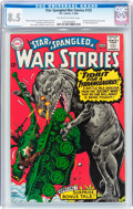 Silver Age (1956-1969):War, Star Spangled War Stories #125 (DC, 1966) CGC VF+ 8.5 Off-white to white pages....
