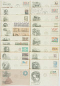 Miscellaneous:Ephemera, Group of Twenty-One Miscellaneous Philatelic First Day Covers.1971-1975. ...