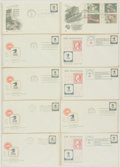 Miscellaneous:Ephemera, Group of Ten Postal Service Themed Philatelic First Day Covers.1971-1974....