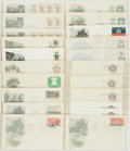 Miscellaneous:Ephemera, Group of Twenty-One Revolutionary War Themed Philatelic First Day Covers and Postcards. 1971-1975. ...