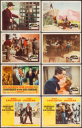 Movie Posters:Western, Gunfight at the O.K. Corral & Others Lot (Paramount, 1957/R-1963). Lobby Cards (45) & Title Lobby Cards (2) & Lobby Card Set... (Total: 135 Items)