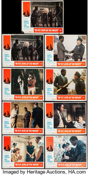 In the Heat of the Night & Others Lot (United Artists, 1967