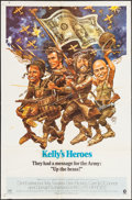 """Movie Posters:War, Kelly's Heroes (MGM, 1970). One Sheet (27"""" X 41"""") Style A. War....."""