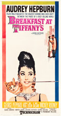 "Movie Posters:Romance, Breakfast at Tiffany's (Paramount, 1961). Three Sheet (41"" X78.5"").. ..."