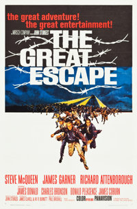 "The Great Escape (United Artists, 1963). One Sheet (27"" X 41"")"