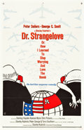 "Movie Posters:Comedy, Dr. Strangelove or: How I Learned to Stop Worrying and Love theBomb (Columbia, 1964). One Sheet (27"" X 41"").. ..."
