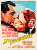 """Movie Posters:Hitchcock, Notorious (RKO, R-1958). French Grande (46"""" X 62"""").. ..."""