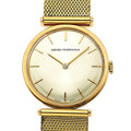 Timepieces:Wristwatch, Girard Perregaux 18k Gold Manual Wind Wristwatch. ...