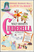 "Movie Posters:Animation, Cinderella & Other Lot (Buena Vista, R-1957/R-1973). One Sheets (2) (27"" X 41"") and Pressbooks (2) (Multiple Pages, 11"" X 15... (Total: 4 Items)"