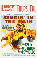 "Movie Posters:Musical, Singin' in the Rain (MGM, 1952). Window Card (14"" X 22"").. ..."