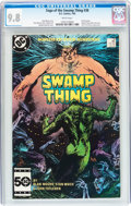 Modern Age (1980-Present):Horror, Saga of the Swamp Thing #38 (DC, 1985) CGC NM/MT 9.8 Whitepages....