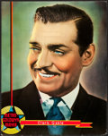 "Movie Posters:Miscellaneous, Clark Gable Personality Portrait (MGM, 1936). Poster (22"" X 28"")....."