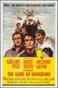 "Movie Posters:War, The Guns of Navarone (Columbia, 1961/R-1966). One Sheet (27"" X41""), Photos (22) (approx. 8"" X 10""). War.. ... (Total: 23 Items)"