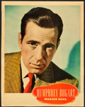 "Movie Posters:Miscellaneous, Humphrey Bogart Personality Poster (Warner Brothers, Late 1930s).Poster (21.5"" X 27.5"").. ..."
