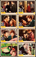 """Movie Posters:Film Noir, Gaslight (MGM, 1944). Lobby Card Set of 8 (11"""" X 14"""").. ... (Total:8 Items)"""