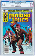 Modern Age (1980-Present):Miscellaneous, The Further Adventures of Indiana Jones #1 (Marvel, 1983) CGC NM/MT 9.8 White pages....