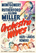 """Movie Posters:Musical, Orchestra Wives (20th Century Fox, 1942). One Sheet (27.5"""" X 41"""").. ..."""