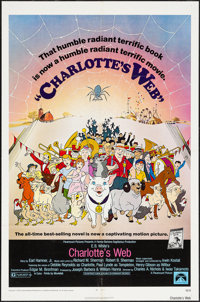"""Charlotte's Web & Others Lot (Paramount, 1973). One Sheets (3) (27"""" X 41""""). Animation. ... (Total: 3 I..."""