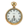 Timepieces:Pocket (post 1900), Ball 17 Jewels Series 999 Pocket Watch. ...
