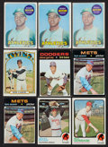 Baseball Cards:Lots, 1968 - 1973 Topps Baseball Collection (2,500+) Including 3 ReggieJackson Rookies. ...