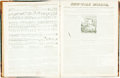 Books:Periodicals, [Bound Periodicals]. Two Bound Volumes of The New-YorkMirror. New York: 1834-1836. ... (Total: 2 Items)