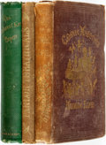 Books:Literature Pre-1900, [Nineteenth Century Humor]. Group of Three Books. The Orpheus C. Kerr Papers. New York: Blakemon & Mason, 1862. [and... (Total: 3 Items)