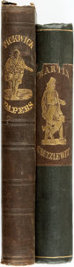 Books:Literature Pre-1900, Charles Dickens. The Posthumous Papers of the Pickwick Club.Philadelphia: Lea and Blanchard, 1842. New edition. Wit... (Total:2 Items)