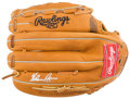 Baseball Collectibles:Others, Nolan Ryan Signed Glove....