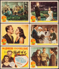 """Movie Posters:Musical, Thrill of a Romance (MGM, 1945). Title Lobby Card & Lobby Cards(5) (11"""" X 14""""). Musical.. ... (Total: 6 Items)"""