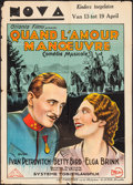 """Movie Posters:Foreign, Grandstand for General Staff (Atlanta Films, 1932). Pre-War Belgian (24"""" X 33.25""""). Foreign.. ..."""