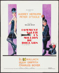 "Movie Posters:Crime, How to Steal a Million (20th Century Fox, 1966). French Affiche(17.75"" X 22""). Crime.. ..."