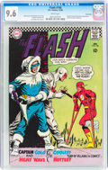 Silver Age (1956-1969):Superhero, The Flash #166 Twin Cities pedigree (DC, 1966) CGC NM+ 9.6 White pages....