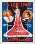 "Movie Posters:Musical, The Runaway Queen (Princeps Film, 1934). Pre-War Belgian (24"" X30"") Musical. Original Title: The Queen's Affair.. ..."