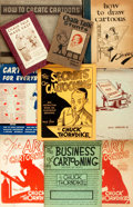 Books:Art & Architecture, [Cartoons/Cartooning]. Group of Ten Books. Various publisher's and dates. ... (Total: 10 Items)
