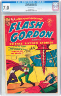 Golden Age (1938-1955):Science Fiction, Flash Gordon #3 (Harvey, 1951) CGC FN/VF 7.0 Off-white pages....