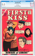 Silver Age (1956-1969):Romance, First Kiss #35 (Charlton, 1963) CGC VF 8.0 White pages....