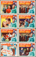 "Movie Posters:Comedy, Holiday Affair (RKO, 1949). Lobby Card Set of 8 (11"" X 14""). Comedy.. ... (Total: 8 Items)"