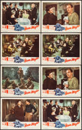 """Movie Posters:Sports, The Iron Major (RKO, 1943). Lobby Cards (8) (11"""" X 14""""). Sports.. ... (Total: 8 Items)"""