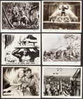 """Movie Posters:Horror, King Kong & Other (RKO, 1933/R-1942/R-1952/R-1956). Photos (20) & Restrike Photos (2) (8"""" X 10""""). Horror.. ... (Total: 22 Items)"""