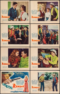 "Ramrod (MGM, 1947). International Lobby Card Set of 8 (11"" X 14""). Western. ... (Total: 8 Items)"
