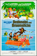 "Movie Posters:Animation, Bedknobs and Broomsticks & Other Lot (Buena Vista, 1971). OneSheet (27"" X 41"") & International Lobby Card Set of 8 (11"" X1... (Total: 9 Items)"